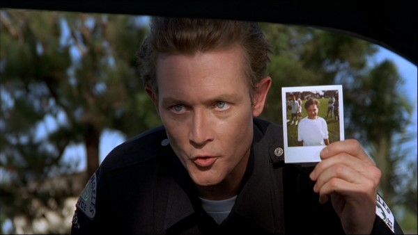 Robert Patrick as the T-1000 - Wayne's World