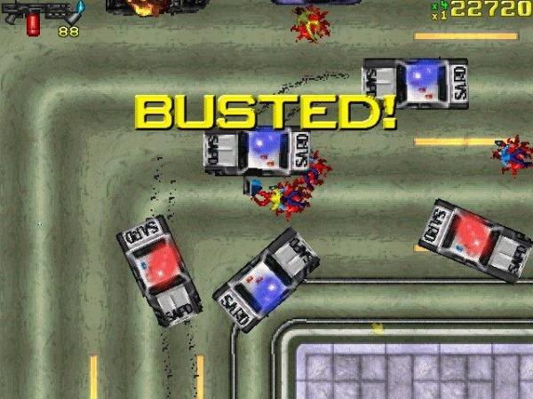 GTA 1 violence