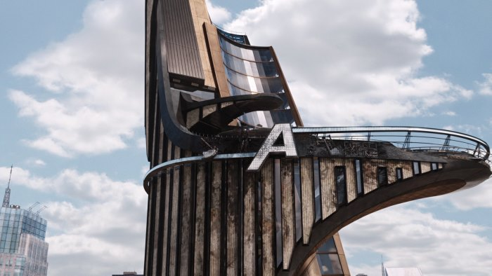 The Avengers Tower in The Avengers