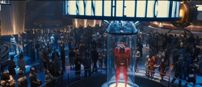 The Human Torch in Captain America The First Avenger