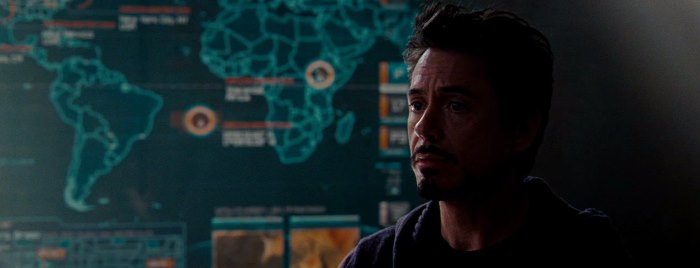 The SHIELD Map in Iron Man 2