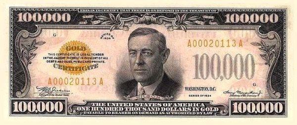 100000 dollars