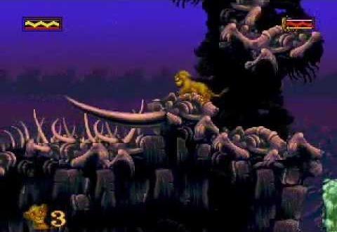 Lion King – Elephant Graveyard