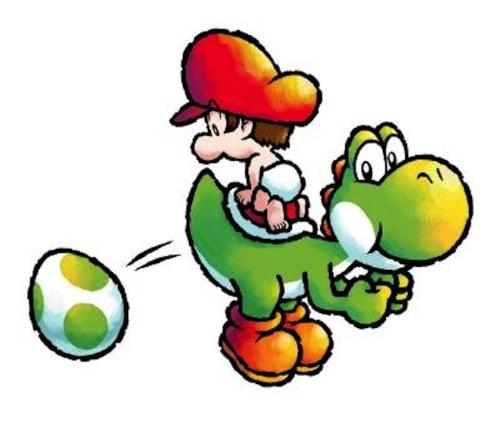 Baby Mario - Super Mario World 2 Yoshi's Island