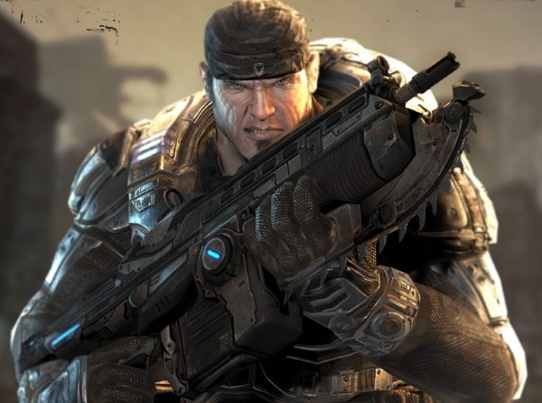 Chainsaw Bayonet - Gears of War