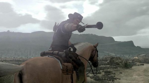 The Blunderbuss red dead