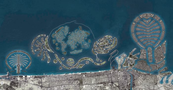 islands dubai