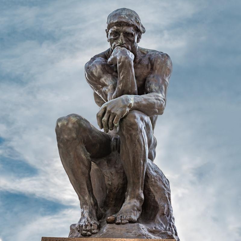 The Thinker - rodin statue