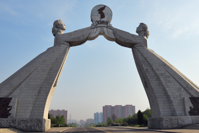Three Charters for National Reunification Monument