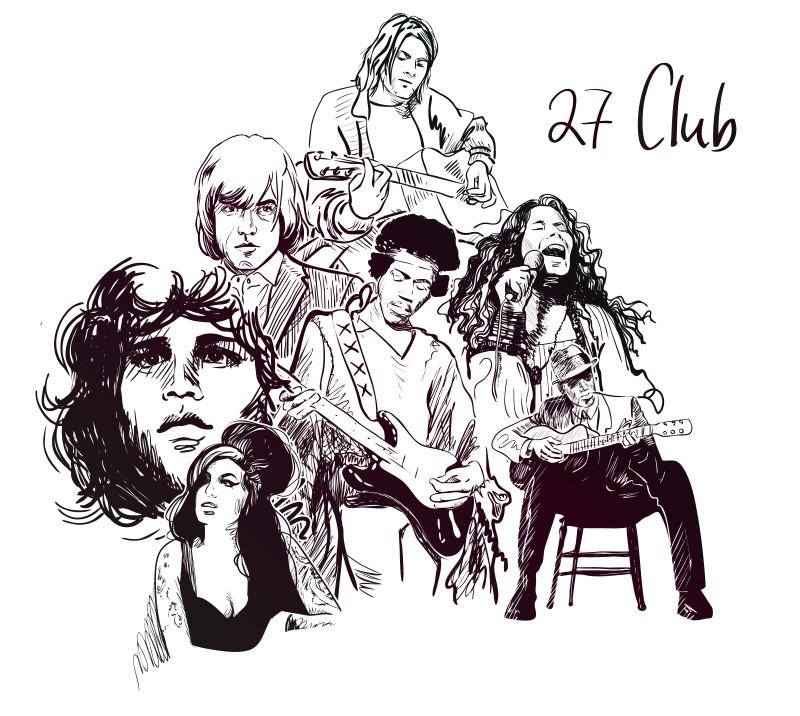27 club members
