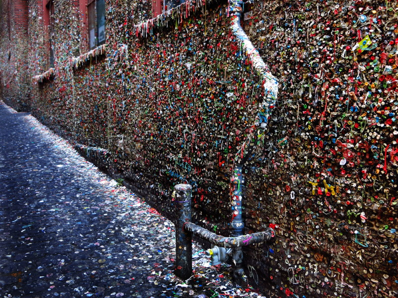 Gum Wall in seatle
