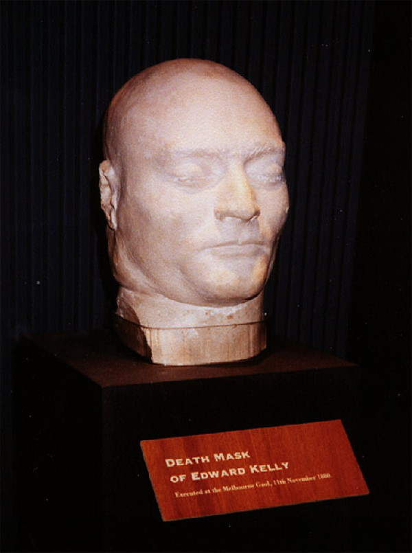 Ned Kelly death mask