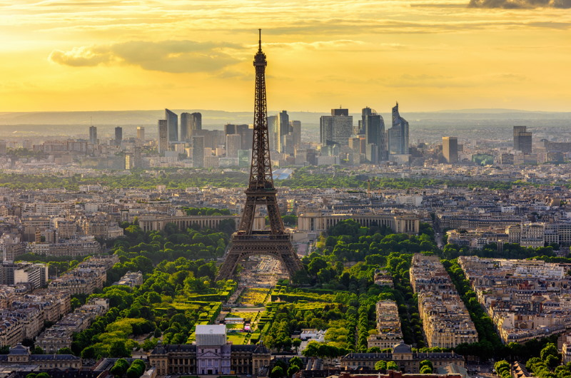 Paris one of the largest cities in europe