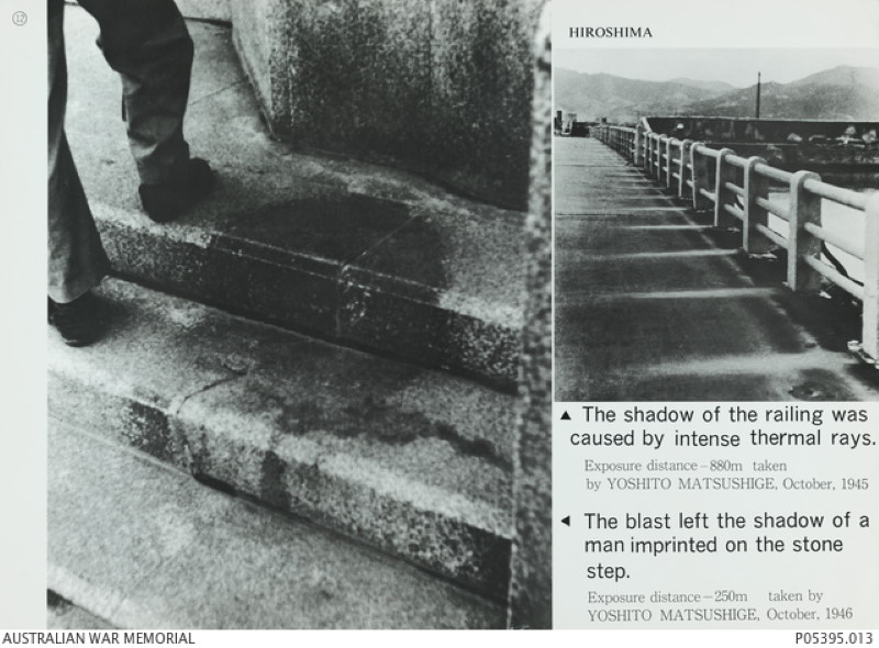 The Hiroshima Steps Shadow