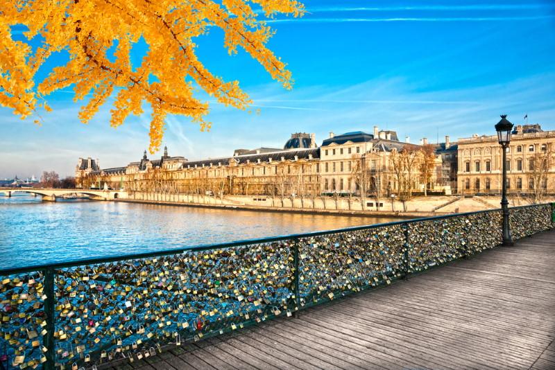 Pont des Arts Bridge padlocks