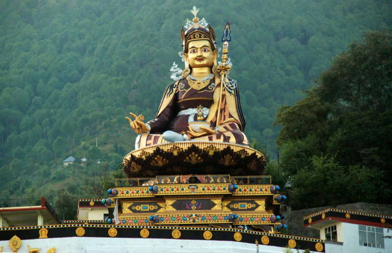 Guru Padmasambhava statue at Rewalsa