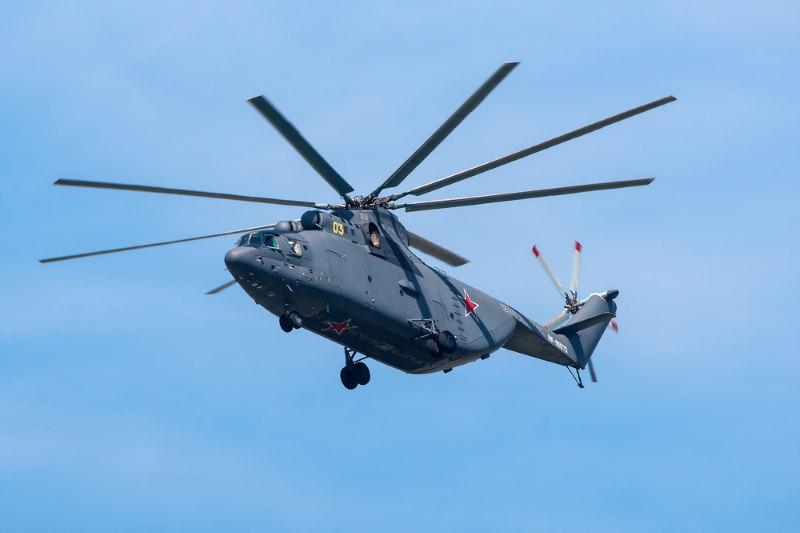 mi-26 in de lucht