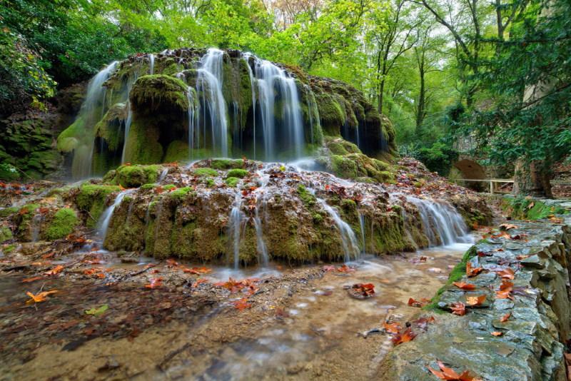 Saint-Pons waterfall