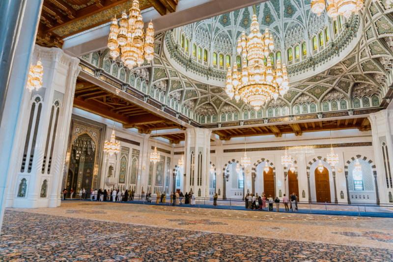 ultan Qaboos Grand Mosque