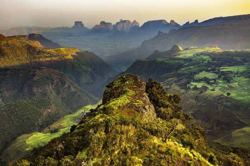 etiopian highland