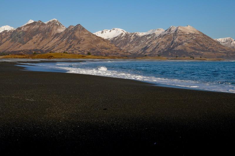 Black Sands Beach alaska